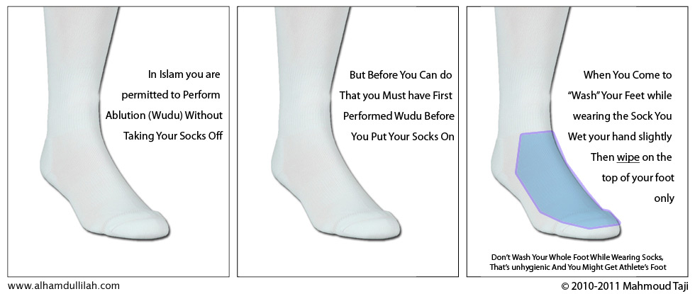 Wiping The Feet